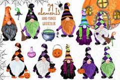 Gnomes clipart Thanksgiving clipart Halloween Kids clipart Product Image 1