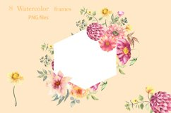 Watercolor frames Product Image 5