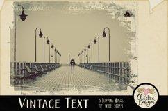 Grunge Clipping Masks - Vintage Text Photoshop Masks & Tutor Product Image 2