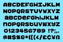 Benji - a bold, fun monospace font! Product Image 2
