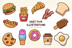 Fast Food illustrations Product Image 1