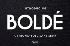 Bolde Product Image 1