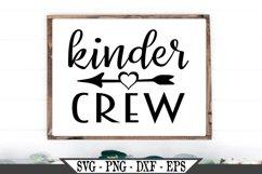 Funny Kinder Crew SVG Product Image 1