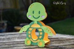 Turtle Easter egg holder design SVG / DXF / EPS Product Image 4