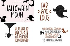 Font Bundle - Handwritten Fonts for Crafters - Halloween Product Image 5