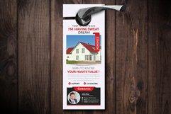 Real Estate Door Hangers Product Image 1