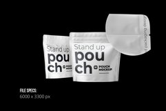 Zip Stand-up Pouch Mockup square Product Image 2
