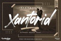 Xantorid - Premium Brush Font Product Image 1