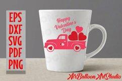 Valentines Day Truck Svg Valentines SVG Love Svg Valentine Product Image 6