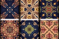 Abstract Zentangle Pattern Tiles   abstract background Product Image 4