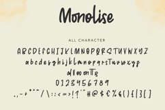 Monolise | Amazing Monoline Font Product Image 3