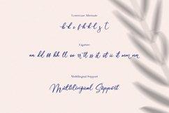 Monnolitic Casual Signature Font Product Image 6