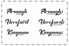 The English Font - Vintage Lettering Product Image 2
