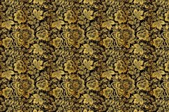 Floral gold seamless pattern. Hohloma. Product Image 5