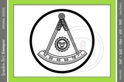 Masonic Past Master SVG Bundle, Five Framing Options Product Image 2