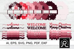 3d Layered Christmas SVG Frames | Multi Layered Product Image 2