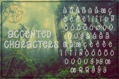 All Hollow's Eve - A Spooky Hollow Mix-Cased Font Product Image 4
