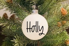 Holiday Lights - A Hand-Lettered Christmas Font Product Image 4