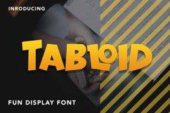 Tabloid - Fun Display Font Product Image 1