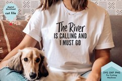 River SVG, Summer Shirt cut file Product Image 1