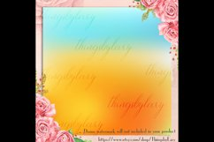 16 Rainbow Gradient Texture Digital Papers, Fairy Tale Paper Product Image 6