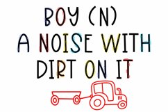 My Boy - A Font Trio With Boyish Doodles Product Image 3