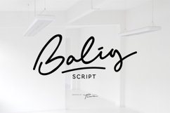 Balig Script Product Image 1