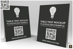 Table Tent Mockup Product Image 3