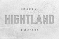 Web Font Hight Land Font Product Image 1