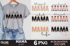 Mama Sublimation Bundle, Mama PNG Sublimation Product Image 1