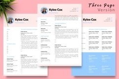 Teacher Resume CV Template for Word & Pages Kylie Cox Product Image 4