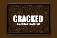 Procreate Cracked Texture Brush Product Image 1