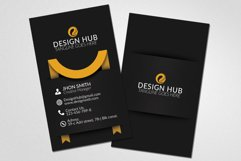 Vertical Ribbon Business Cards  Product Image 3