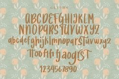 Web Font Justina - Handwritten Fonts Product Image 4