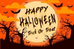 Grim Reaper - Creepy Halloween Font Product Image 5