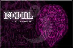 VECTOR ILLUSTRATION OF LION Product Image 1