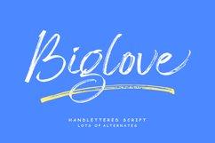 Biglove Brush Font Product Image 1