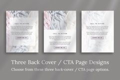 Workbook / Opt-in Lead Magnet Canva Template   Silver Product Image 5