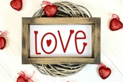 Web Font Blow A Kiss - A Hand-Lettered Valentine's Day Font Product Image 4