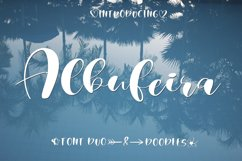 Albufeira Font Duo & Doodles Product Image 1