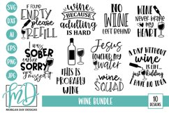 Wine SVG Bundle - Wine humor SVG Bundle Product Image 1