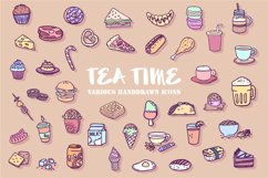 TeaTime Icon Set Product Image 1
