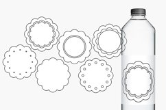 Scallop pastel tags illustrations Product Image 2