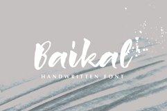 Baikal Handwritten Font with bonus Product Image 1