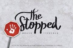 The Stopped Brush Typeface Product Image 1