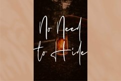 Web Font Charlotte - A Beauty Signature Font Product Image 3