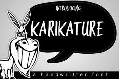 Karikature Handwritten Font Product Image 1