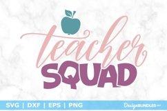 Teacher Squad SVG File Product Image 1