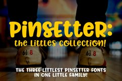 Pinsetter - The Littles Collection - three cute little fonts Product Image 1