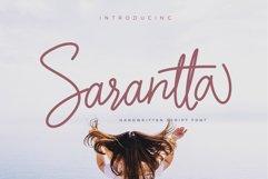 Sarantta | Handwritten Script Font Product Image 1